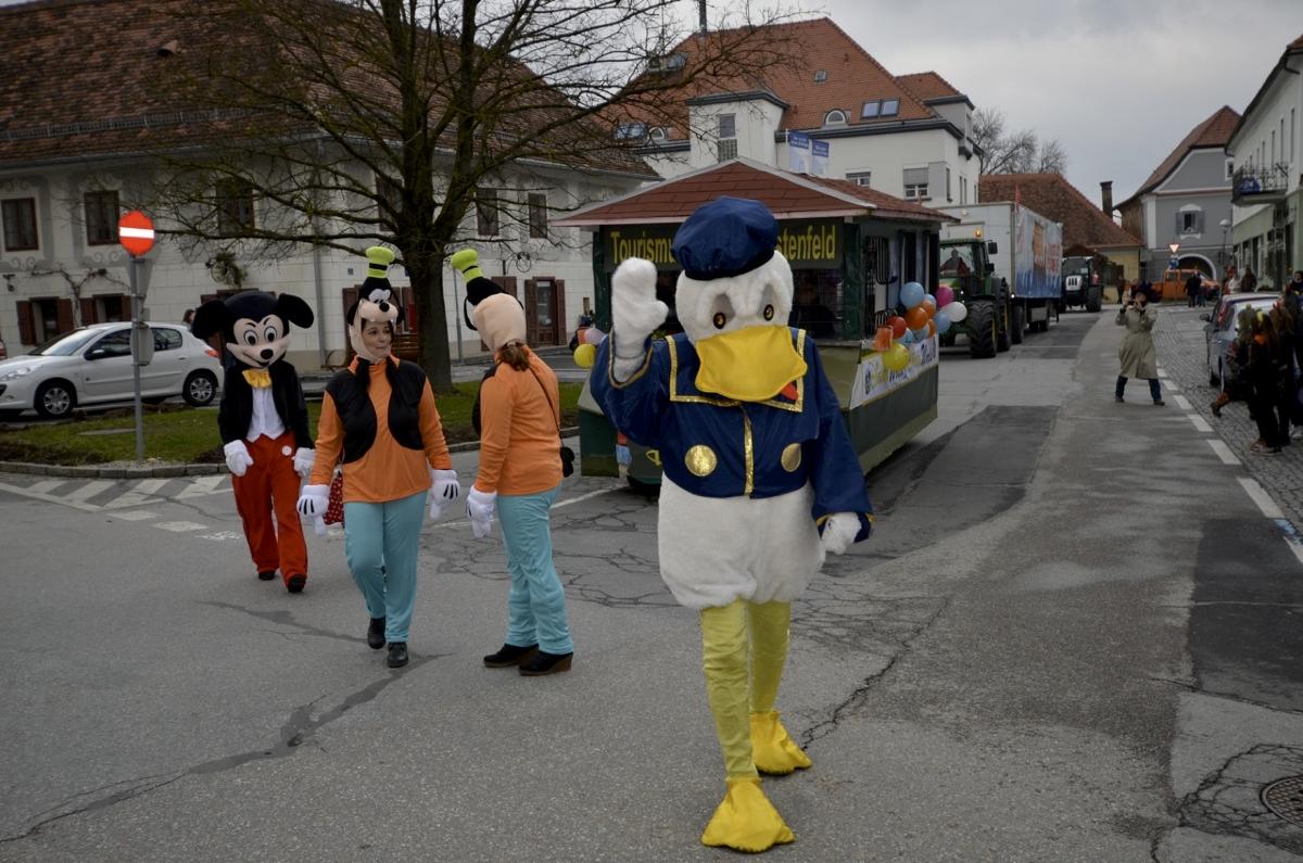 Faschingsumzug Unter Dem Motto Disney World Stadtgemeinde Furstenfeld